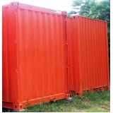 alugar container para construções quanto custa Embu das Artes