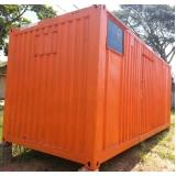 alugar container para moradia Vila Maria
