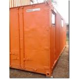 alugar container para morar com banheiro Vila Esperança