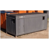 alugar container para obras de construção Cotia