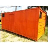 alugar container sanitário preço Jandira