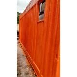 aluguel de container almoxarifado preço Sapopemba