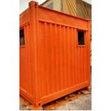 aluguel de container almoxarifado Indaiatuba