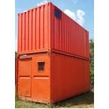 aluguel de container para construção Alphaville