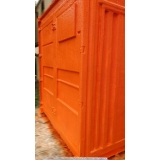 aluguel de container para construções sp Água Rasa