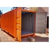 aluguel de container para depósito sp Belém