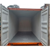 aluguel de container para depósito Franco da Rocha