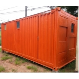 aluguel de container para moradia valor Vila Esperança