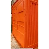 aluguel de container sanitário preço Jaguaré