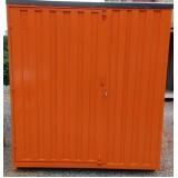 aluguel de container sanitário sp Embu Guaçú
