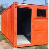 aluguel de container São José dos Campos