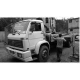 caminhão para transporte de container Vila Sônia