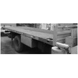 caminhões articulado para transporte de container José Bonifácio