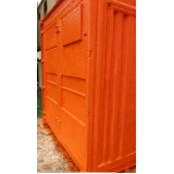 container almoxarifado aluguel Santo André
