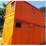 container de almoxarifado preço Indaiatuba