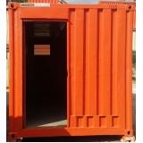 container de almoxarifado sp Santa Cecília