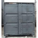 container de armazenamento de carros preço Campinas