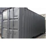 container de armazenamento de carros Poá