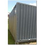 container de armazenamento preço Itaquaquecetuba