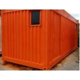 container de obras para locações preço Jardins