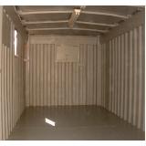 container depósito preço Americana