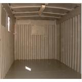 container depósito preço Jacareí