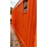 container habitável para alugar preço Água Rasa