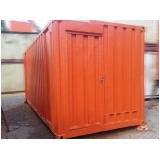 container para almoxarifado preço Taboão da Serra
