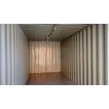 container para armazenamento preço Santa Cecília
