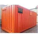 container para armazenamento Água Branca