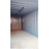 container para armazenar ração Vila Curuçá