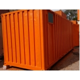 container para depósito preço Sacomã