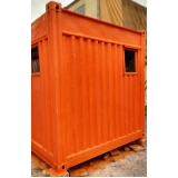 container para depósito sp Água Branca
