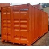 container para depósito Aclimação