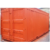 container para escritório sp Vila Mariana
