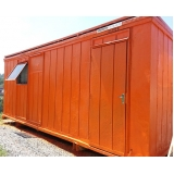 container para escritório Santo André