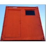 container para obras de construção civil preço Jaçanã