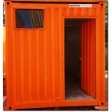 container para obras de construção preço Osasco