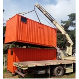 container sanitário com caixa de dejetos preço Alphaville