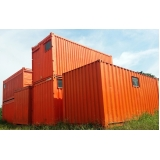 container sanitário com caixa de dejetos sp São Vicente