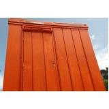 containers com sanitários sp Campo Limpo