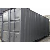containers de armazenamento de carros Cidade Jardim