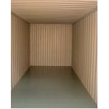 containers para armazenamento Vila Medeiros