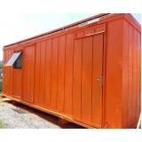 containers para sanitários sp Parque São Rafael