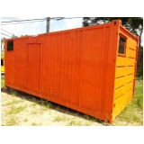 empresa de containers almoxarifado Pacaembu