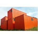 empresas de container escritório São Vicente