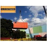 içamento de container em articulado Vila Guilherme