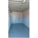 locação de container canteiro de obras preço Sacomã