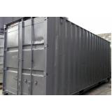 locação de container canteiro de obras Pari