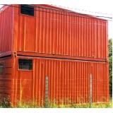 locação de container com ar condicionado Caieiras
